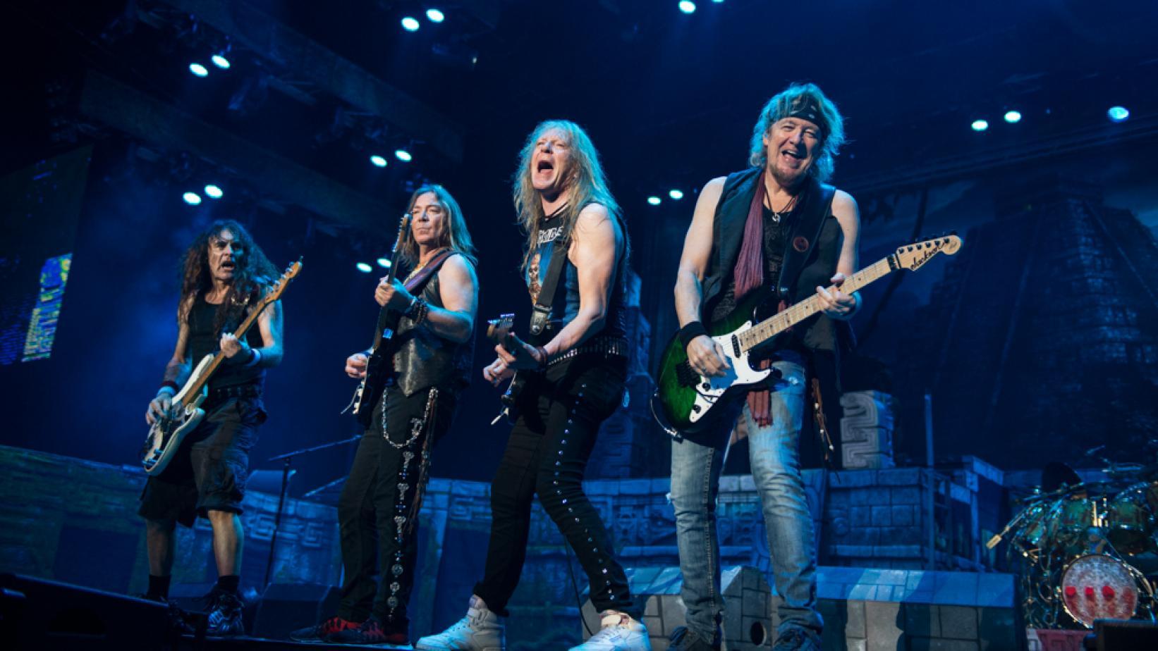 Siguiente Anuncian show de Iron Maiden en Movistar Arena