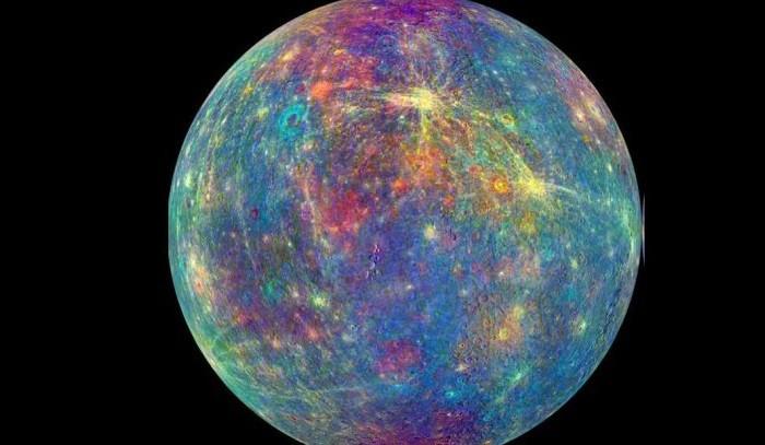 messenger envia imagenes de mercurio