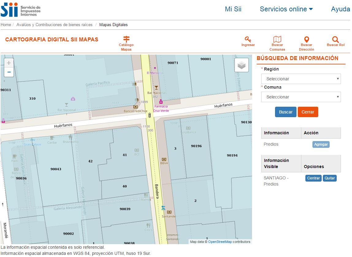 ¿Cuál es el precio de mi terreno, casa o departamento? SII lanza aplicación para realizar tasaciones