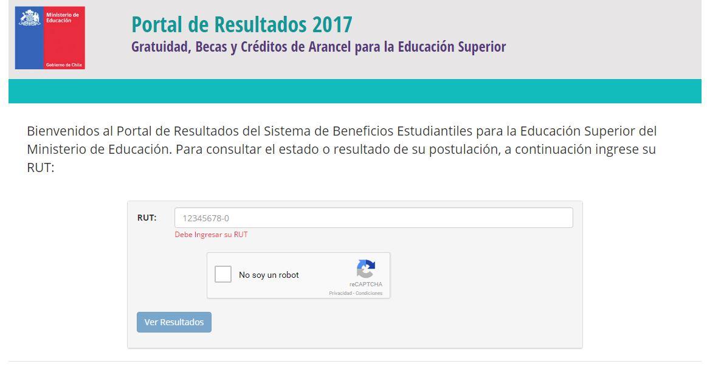 Gratuidad 2017: Mineduc publica resultados de la primera asignación