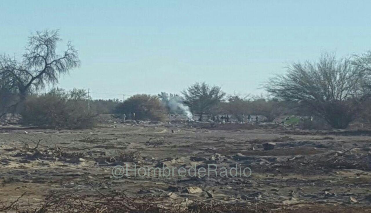 Dos pilotos de la FACH mueren en accidente aéreo en La Tirana