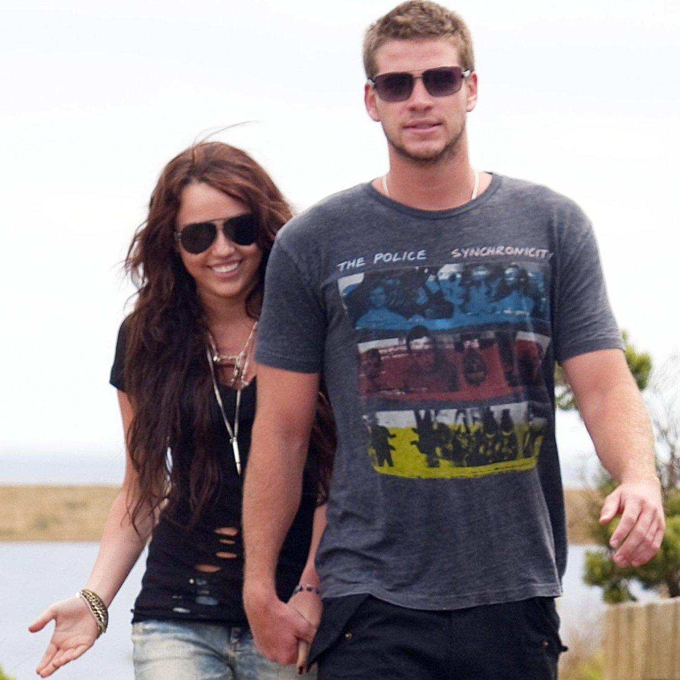 Mira la candente foto que compartió Miley Cyrus junto a su novio