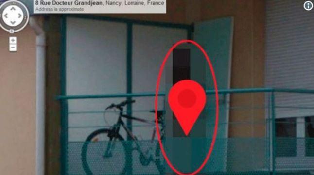 Google Street View elimina una inquietante imagen
