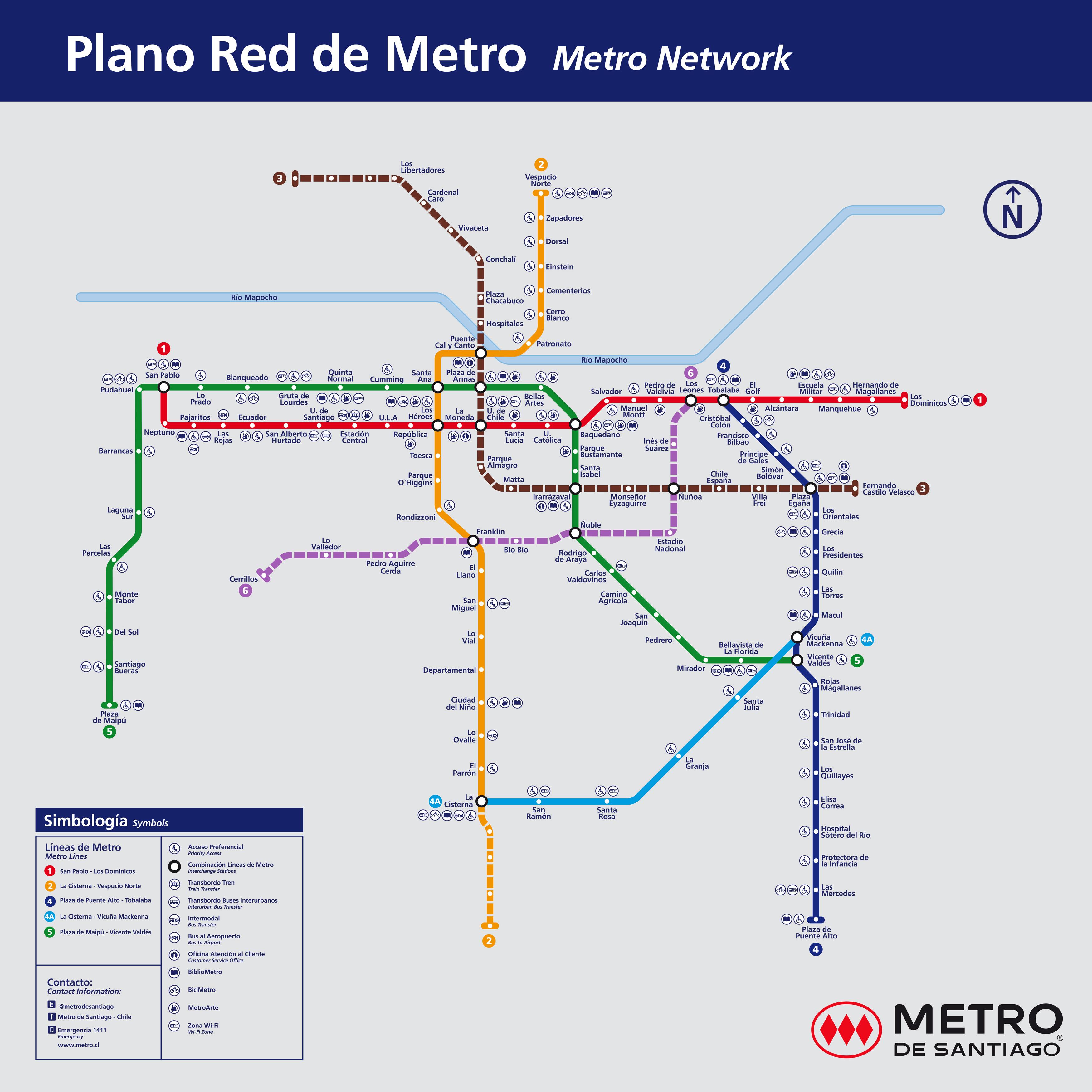 Línea 6 de Metro estará operativa a contar del 2 de noviembre