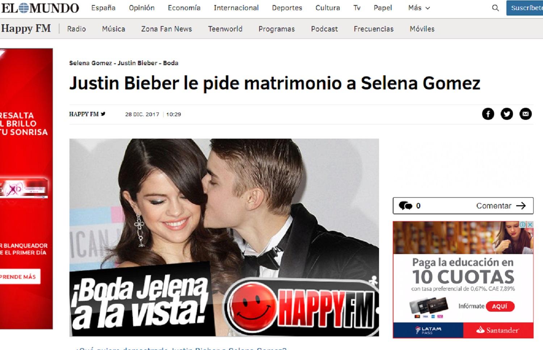 Justin Bieber no causó los problemas entre Selena y su mamá