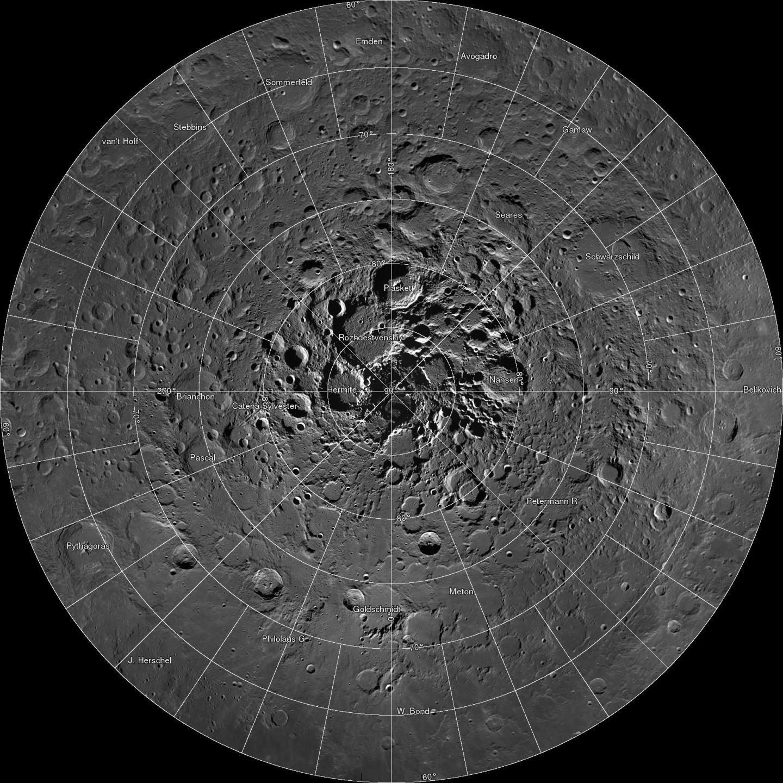 Descubren pozos en la Luna que podrían permitir la vida humana — FOTOS
