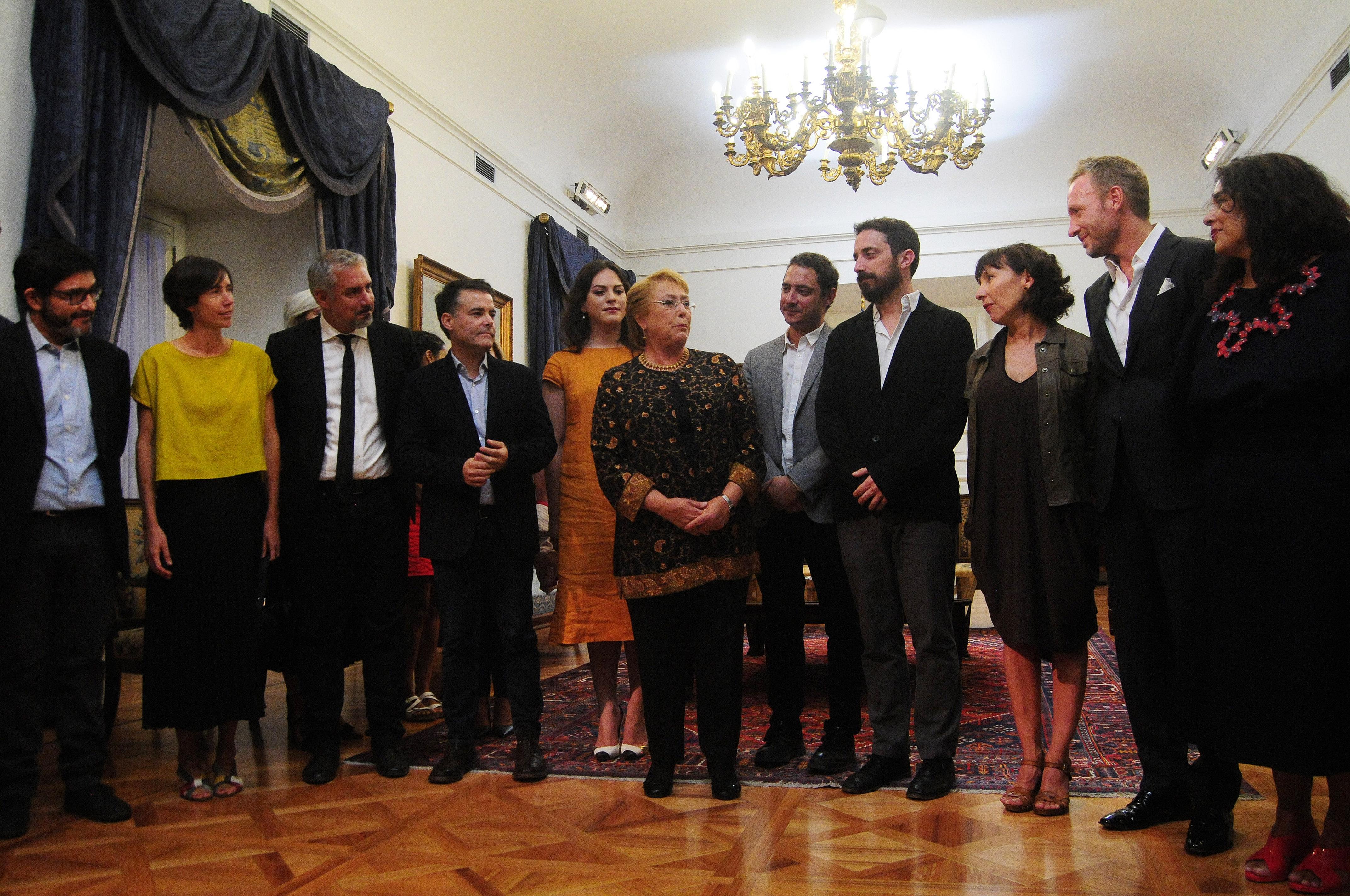 La broma de la Presidenta Michelle Bachelet al recibir el Oscar de