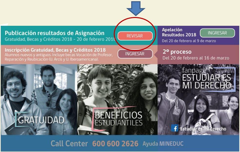 Gratuidad 2018: Se cumple el plazo para apelar al beneficio