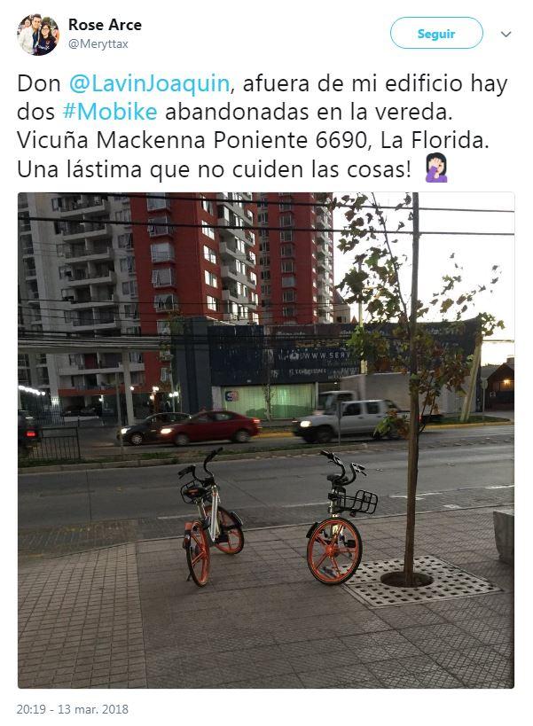Las cinco lugares más insólitas donde se han encontrado las bicicletas de Mobike