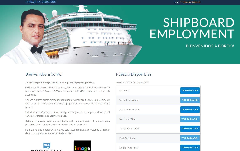 Cruceros buscan a 300 chilenos para trabajar recorriendo el mundo: Entérate cómo postular
