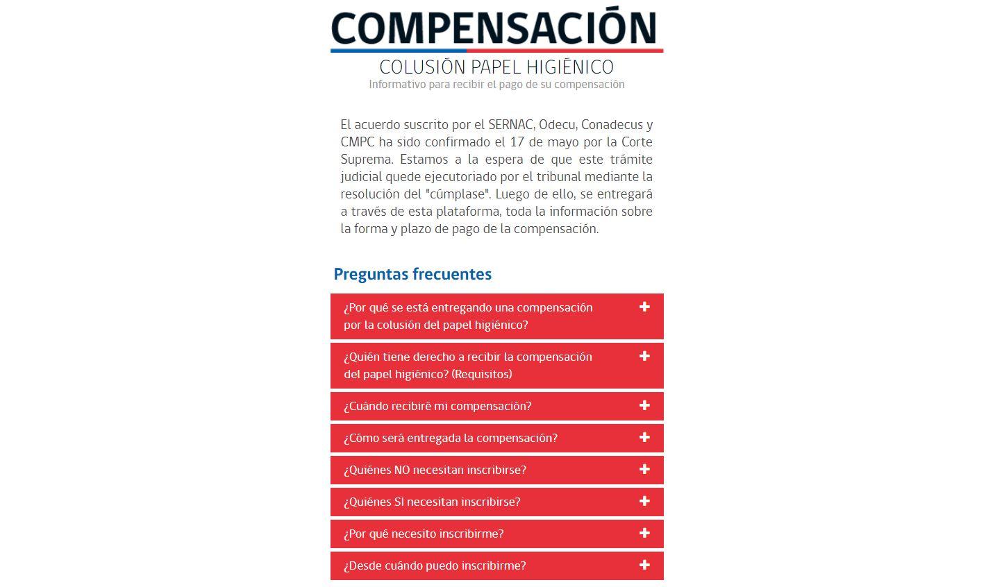 Colusión del confort: Sernac lanza sitio web explicativo para aclarar cómo se pagarán los 7 mil pesos