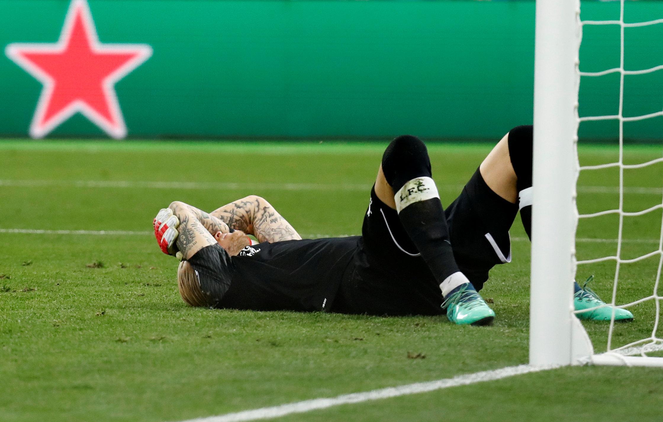 Loris Karius sufrió una conmoción durante la final de la Champions