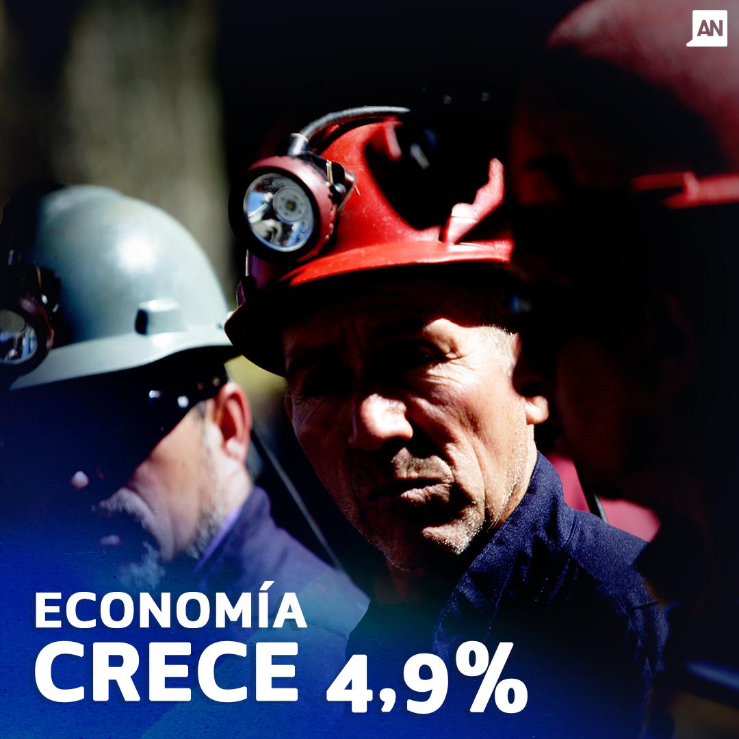 Economía chilena crece 4,9% durante mayo — Imacec