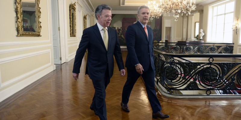 Cambio de mando presidencial en Colombia: Iván Duque toma posesión del cargo