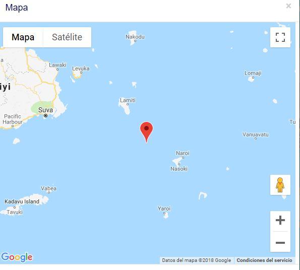 Terremoto Magnitud 7 8 Sacude A La Isla Fiji Meganoticias