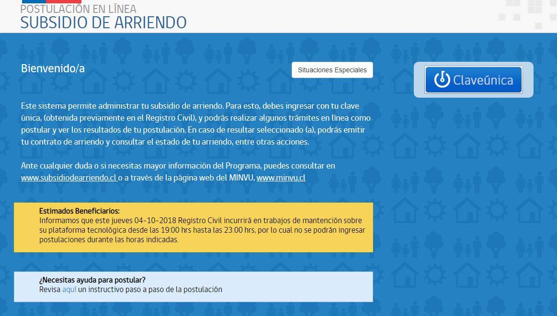 Subsidio Arriendo: Recibe hasta 87 mil pesos para pagar tu renta