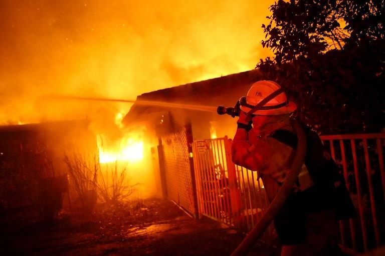 California sufre el peor incendio de su historia