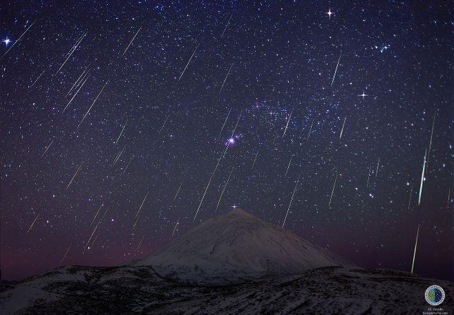 Lluvia de meteoros de las Gemínidas