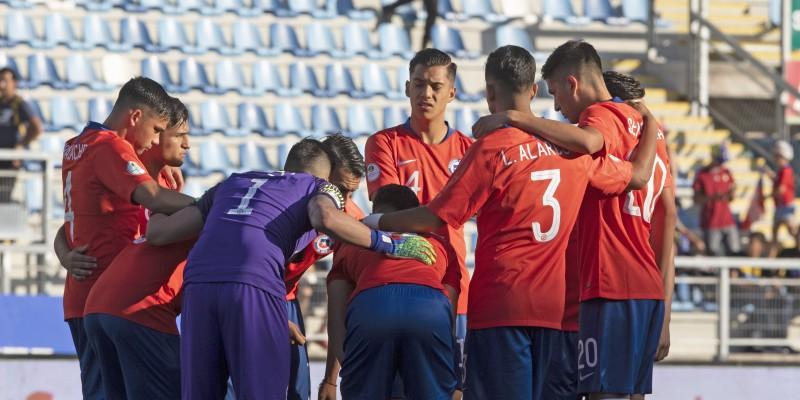 Sigue el partido de Chile Sub 20 vs Bolivia, formaciones y tabla de posiciones