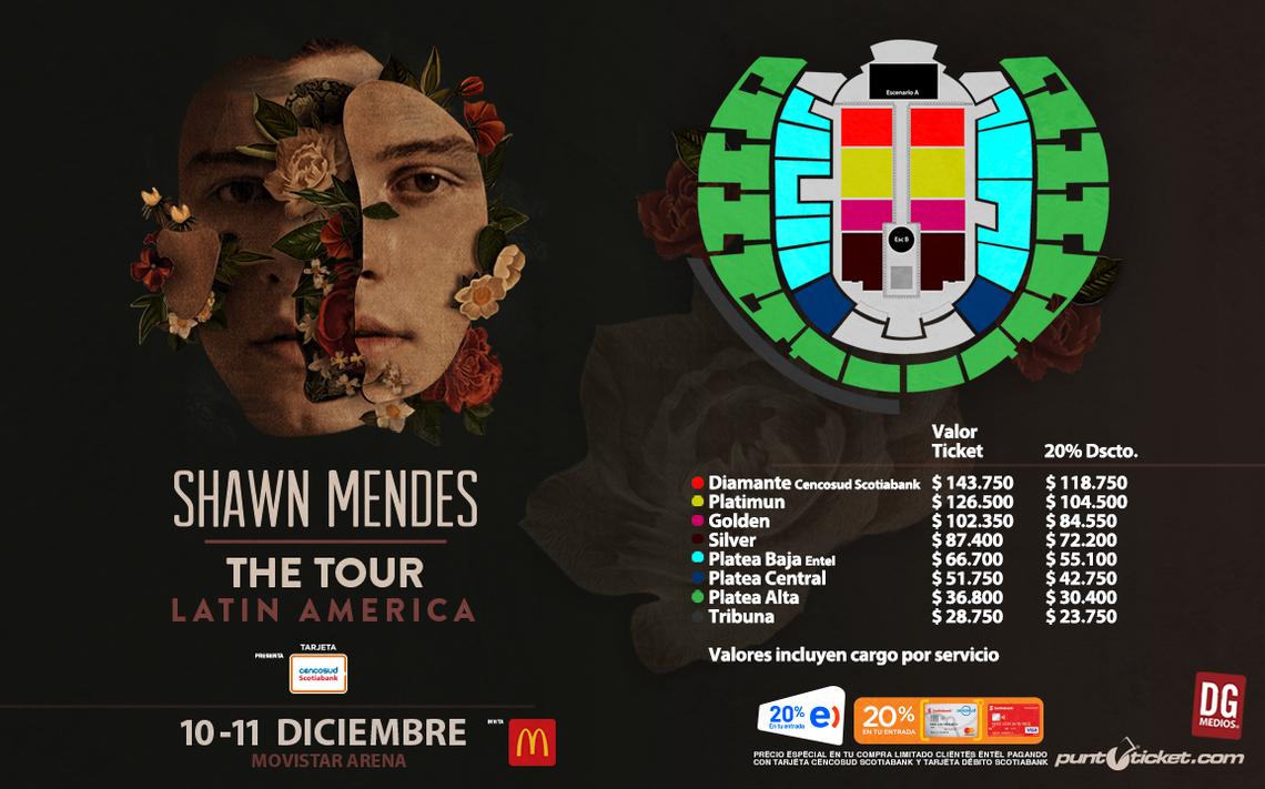 ¡Shawn Mendes confirma su segundo recital en Chile!