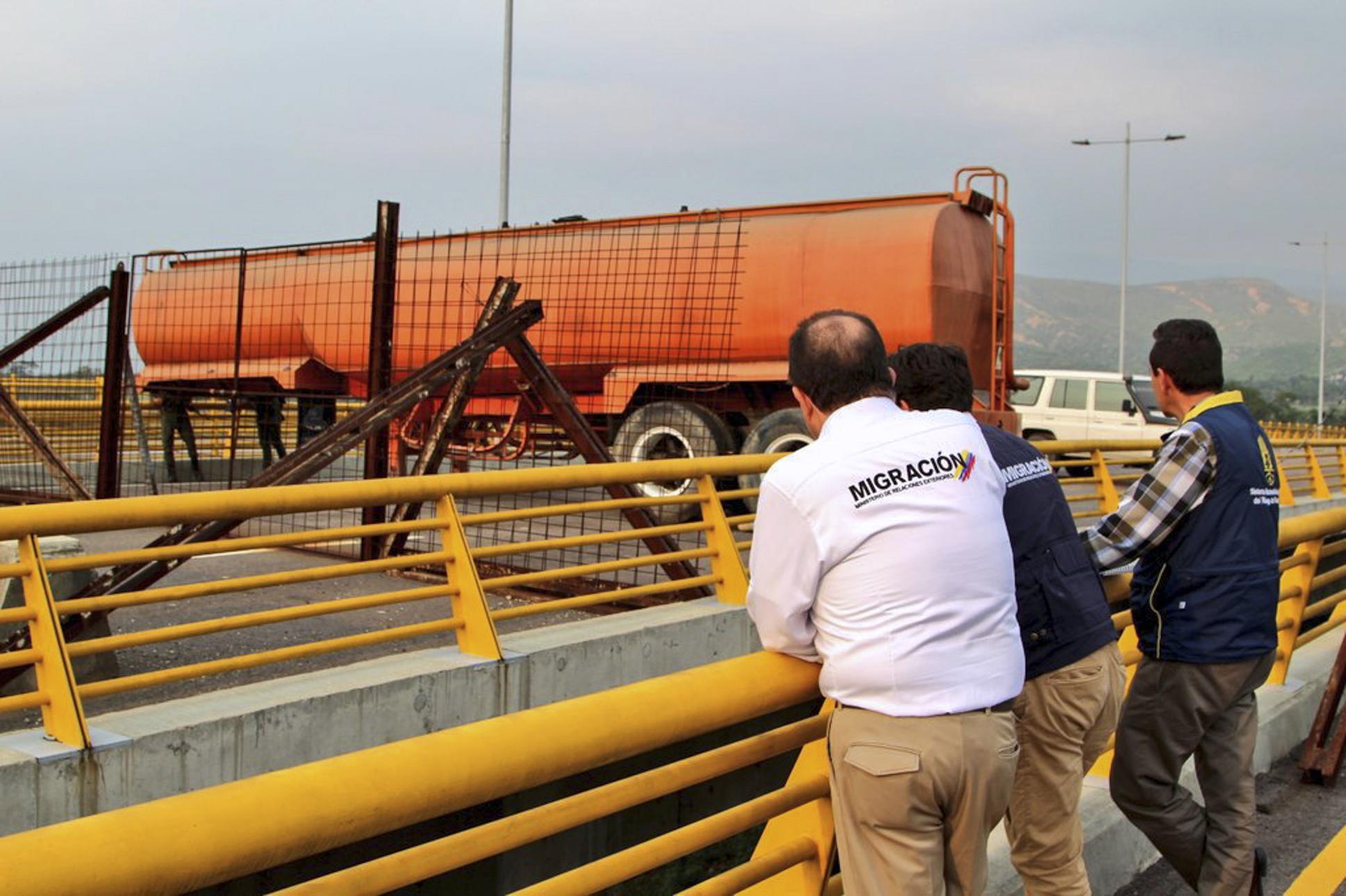 Primeras ayudas humanitarias para Venezuela llegan a Cúcuta