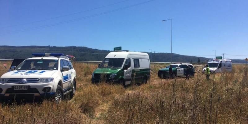Encuentran cuerpo de adulto mayor desaparecido hace una semana en Chiguayante