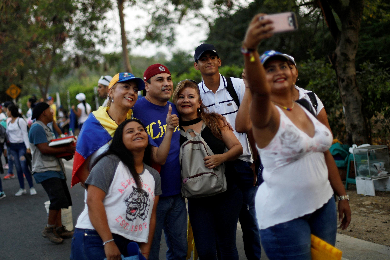 Concierto a favor de la ayuda a Venezuela supera los 300.000 asistentes