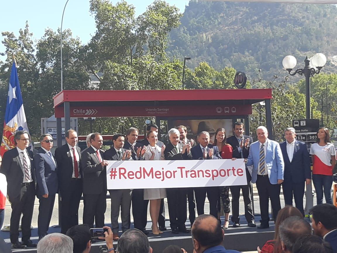 Presidente Piñera presenta al sucesor del Transantiago — Red