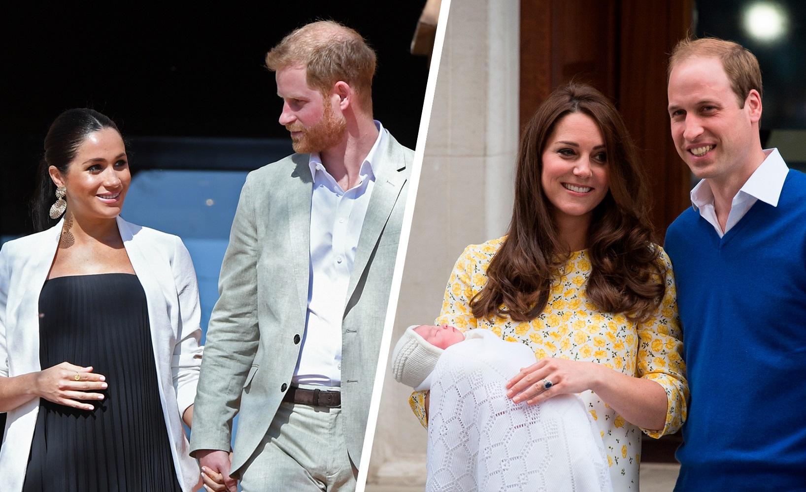Kate se fue un mes antes del nacimiento. ¿Será lo mismo con Meghan?