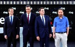 Los principales candidatos a las elecciones de este domingo en España