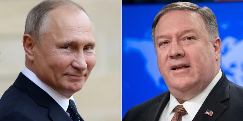Estados Unidos y Rusia: Mike Pompeo se reúne con Vladimir Putin para abordar crisis en Venezuela