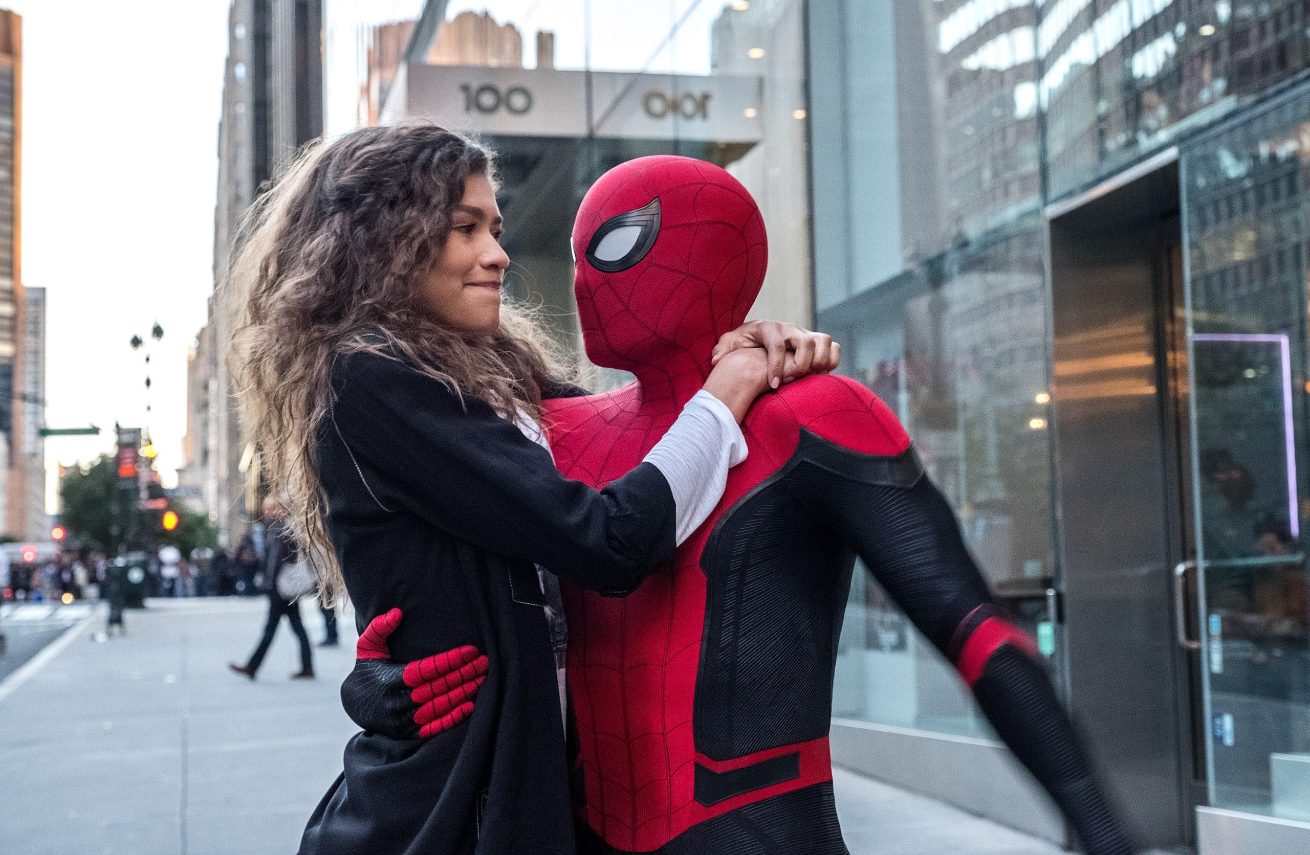 Mary Jane y Spider Man